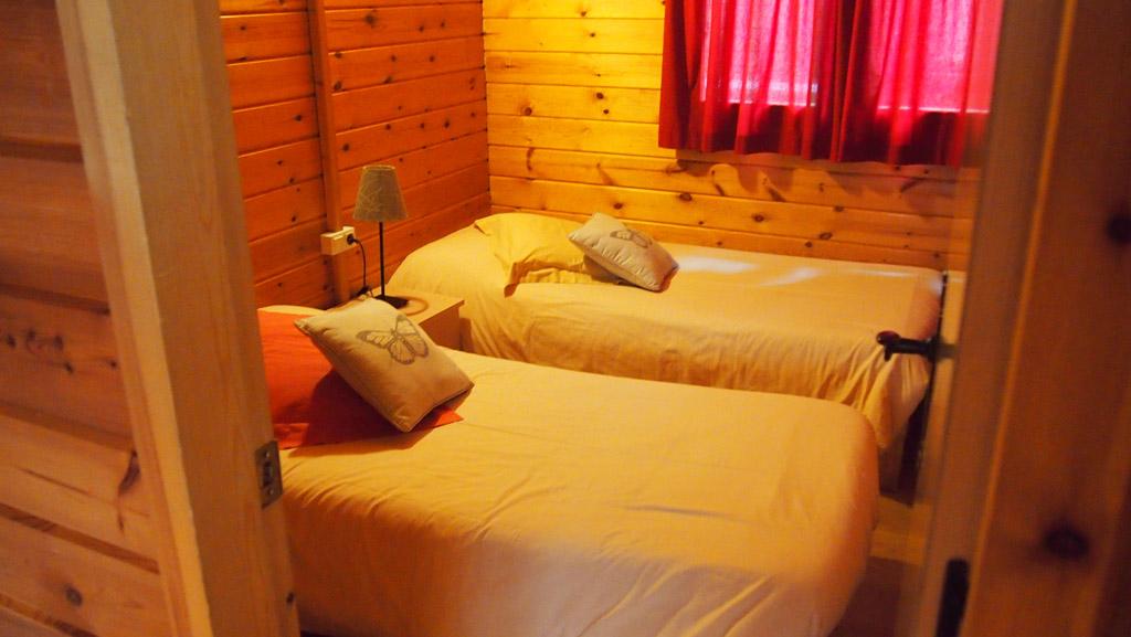 Dit was de slaapkamer van Maureen en Camiel.