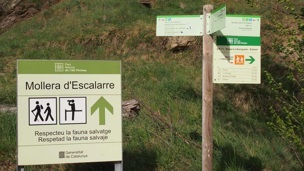 Vanaf de camping kan je meerdere kanten op wandelen.