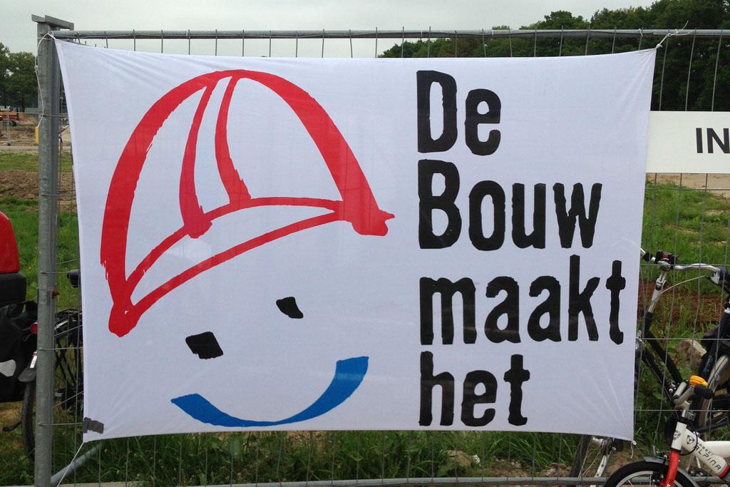 Tijdens de Dag van de Bouw hebben meerdere bouwplaatsen een open dag.