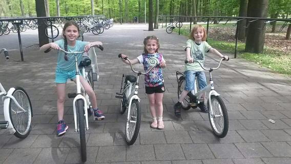 Op pad met de witte fietsen in Nationaal Park De Hoge Veluwe.