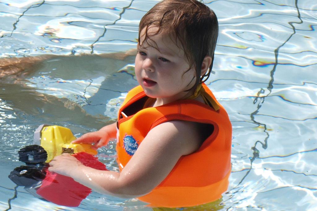 Ik vind deze dingen levensgevaarlijk. Maureen bleef met haar gezicht in het water liggen en kwam niet zelf overeind.