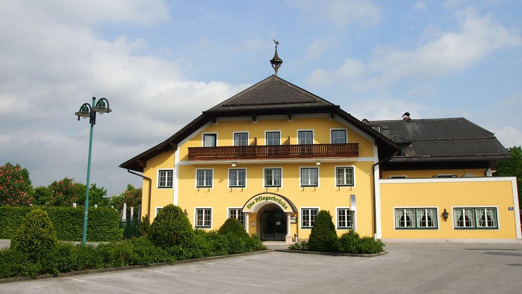 Gasthof Die Pflegerbrucke: een ideale uitvalsbasis om Salzburg met kinderen te verkennen.