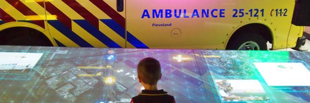 PIT Almere met kids: beleef de wereld van brandweer, politie en ambulance