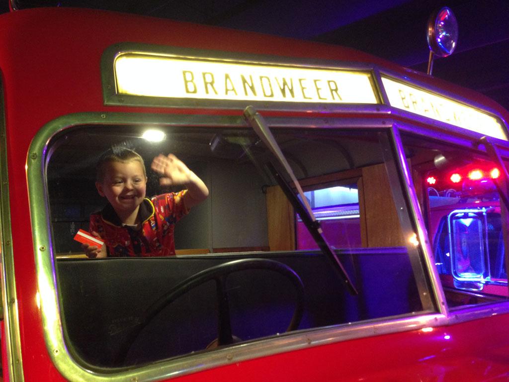 Happy fireman :-).