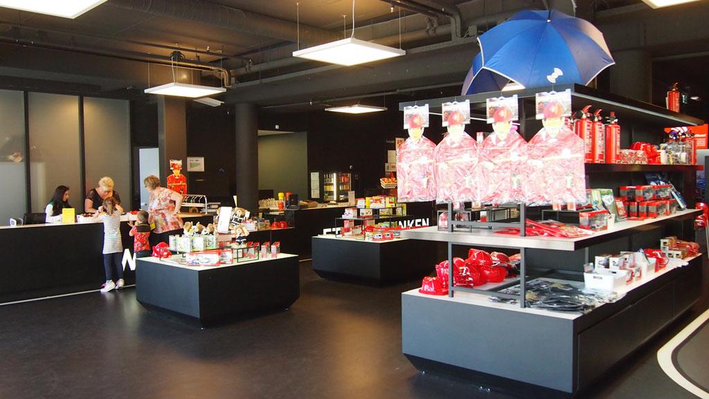 Museumshop met leuk assortiment (en een perfecte plek om stiekem iets voor een verjaardag te kopen!).