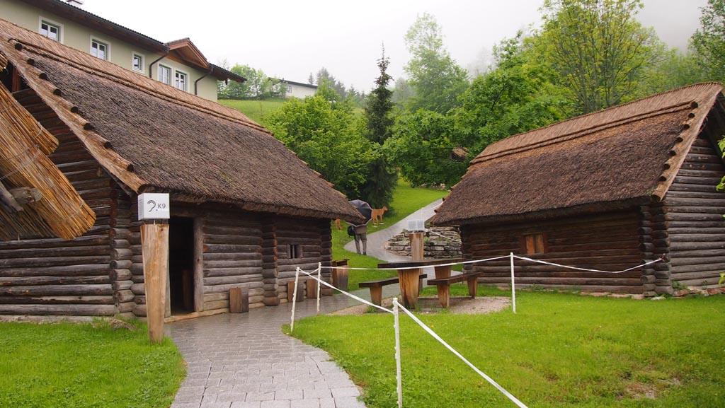 In de zomer zijn er ook allerlei activiteiten in het Keltisch dorp.