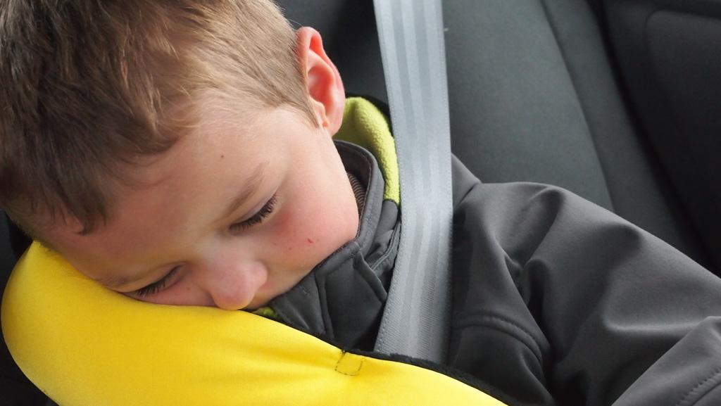 Heerlijk slapen zonder in een rare houding te hangen.