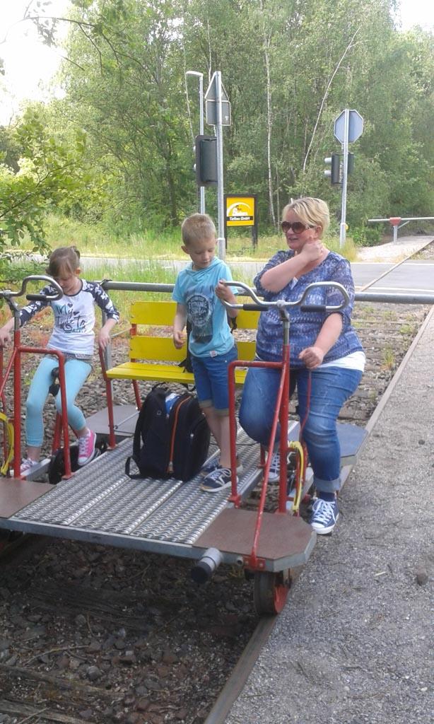 We vonden het zo leuk om draisine fietsen te doen dat we nog een keer willen gaan!