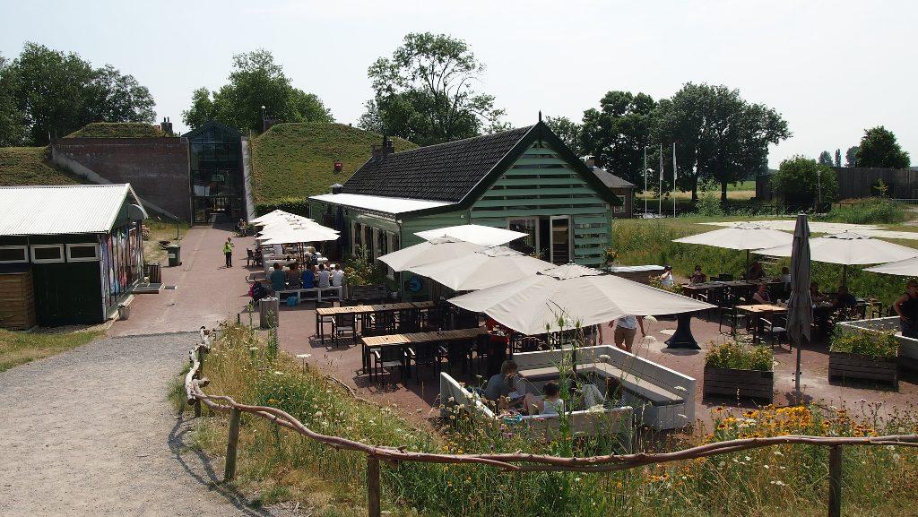 Het 3D cafe bij GeoFort.