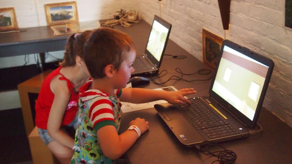 Camiel vindt Minecraft reuze interessant.