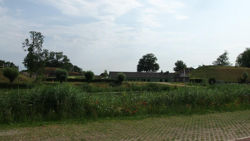 GeoFort ligt bij Herwijnen, in de Betuwe.
