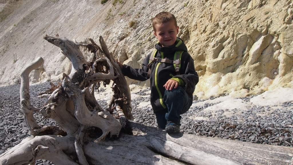 """""""Papa, is dit ook een fossiel?"""""""