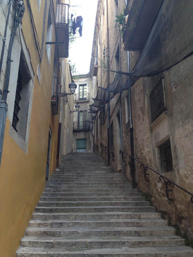 Een van de vele steegjes in de Joodse wijk.