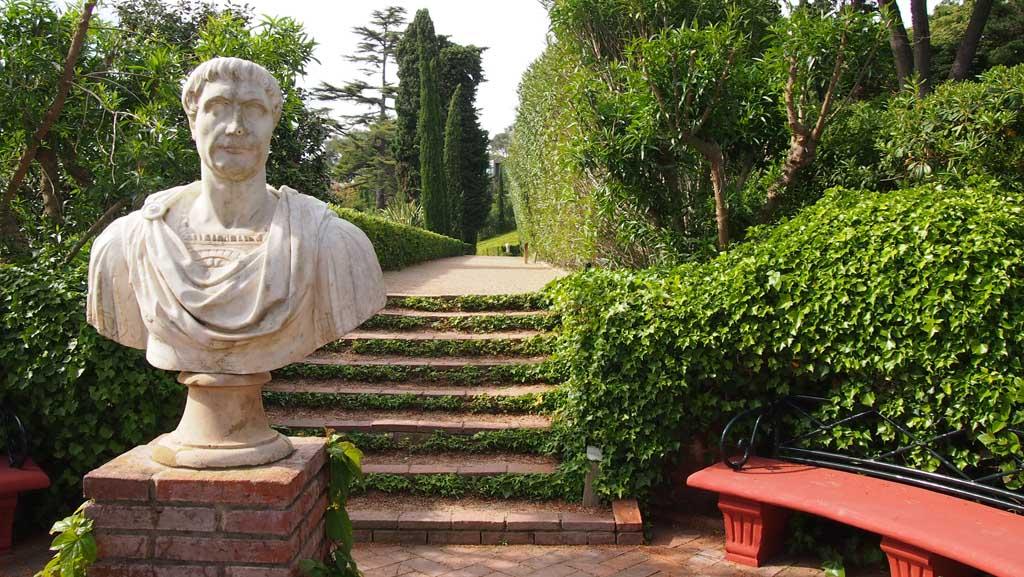 Jardin de Santa Clothilde is ook erg fotogeniek.