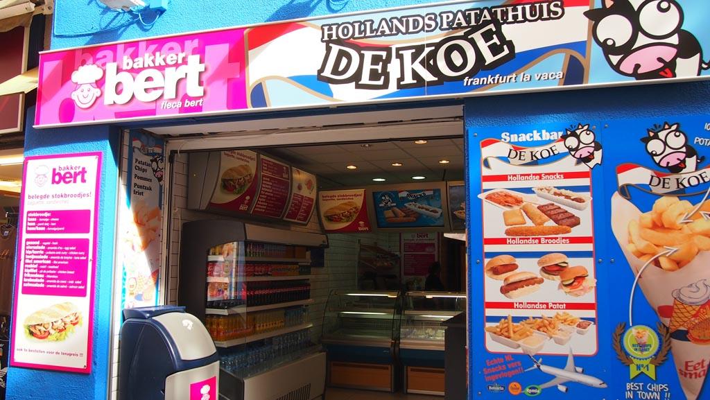 Bakker Bert en Snackbar De Koe... Om verdrietig van te woorden in een land met zulke culinaire hoogtepunten.