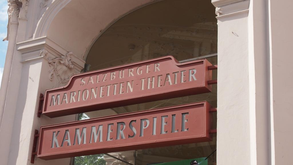 Marionetten Theater in Salzburg.