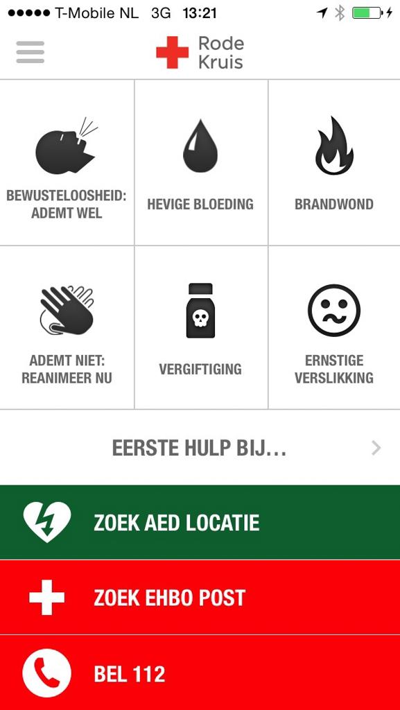 De app van het Rode Kruis: Eerste hulp bij...
