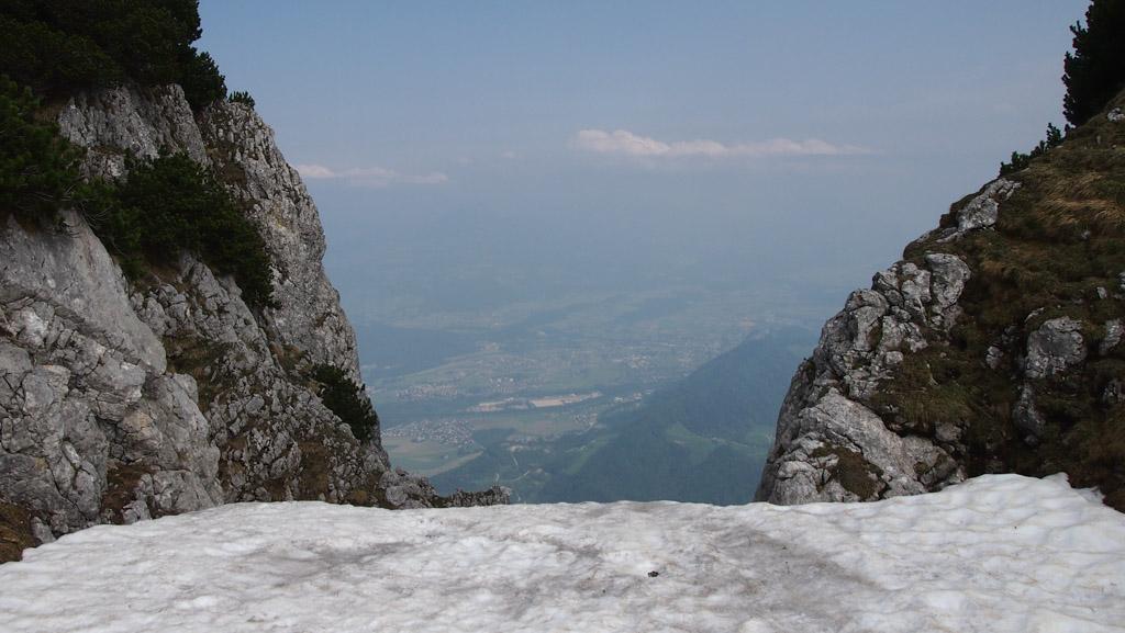 Rotsen, sneeuw en uitzicht: dat is de Untersberg.