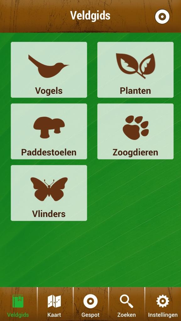 De Veldgids-app helpt je met uitzoeken hoe plantjes en dieren heten.