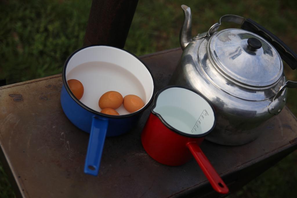 Lekkere eitjes voor bij het ontbijt.