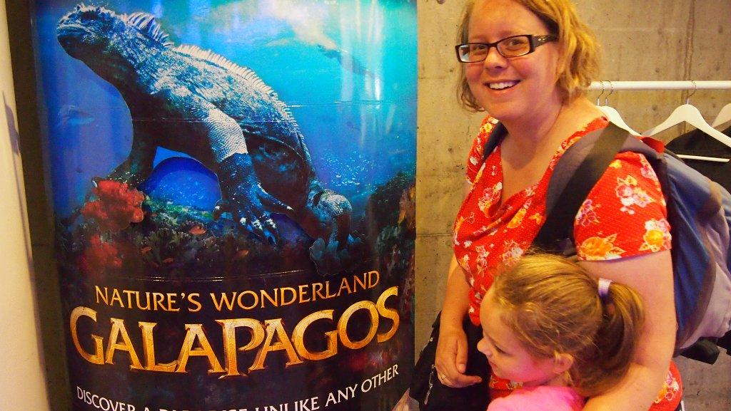 De film over de Galapagos-eilanden is geschikt voor het hele gezin.