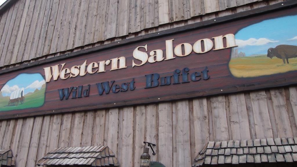 We kiezen 's avonds voor het buffet bij Western Saloon.