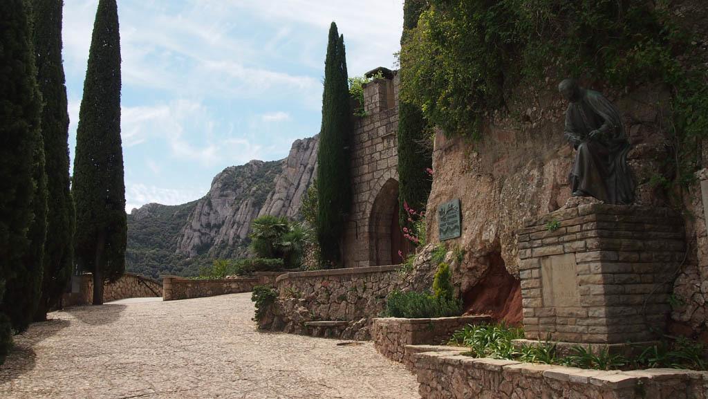 Nog een rustig plekje gevonden. Wat is Montserrat dan mooi!