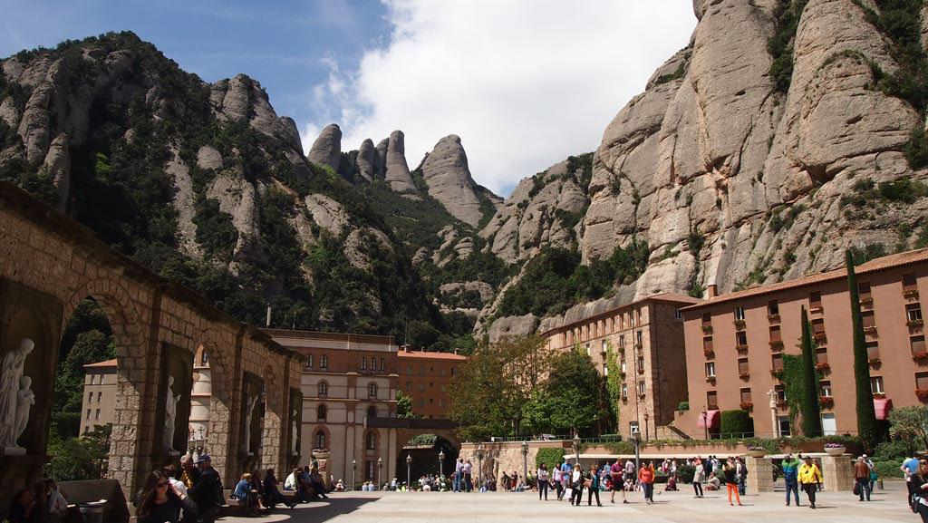 We zijn niet de enige bezoekers van Montserrat.