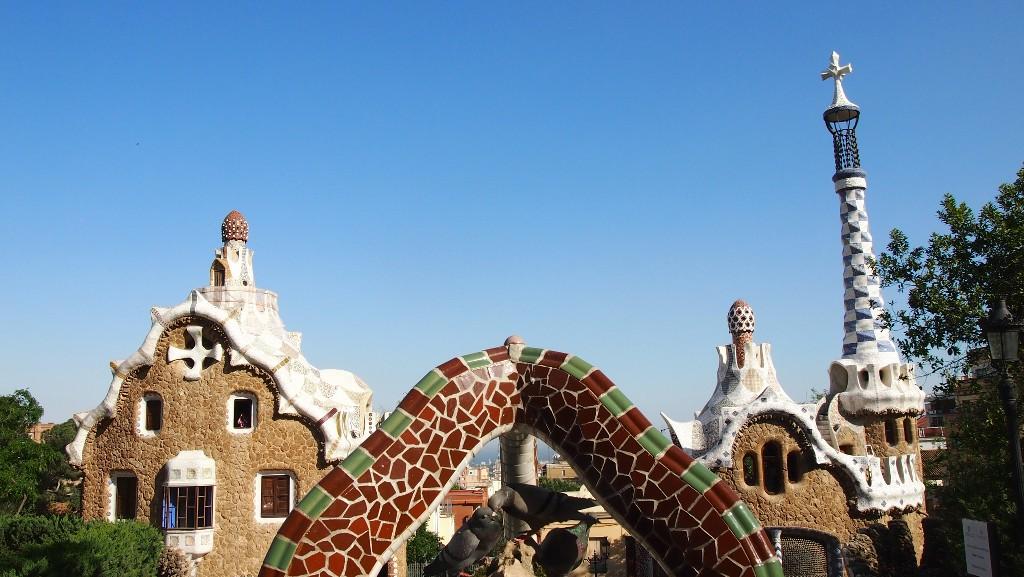 Het werk van Gaudi blijft mooi om naar te kijken. Elke keer zie je nieuwe details.