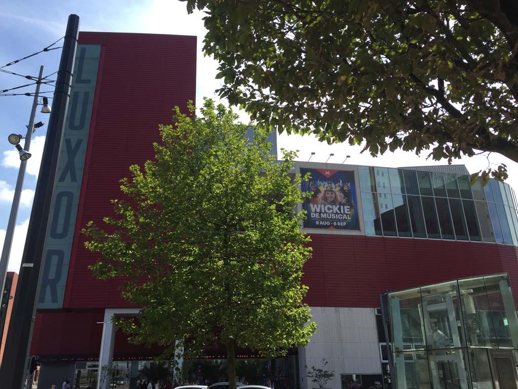 De premiere van Wickie de Musical was in het Nieuwe Luxor Theater in Rotterdam.
