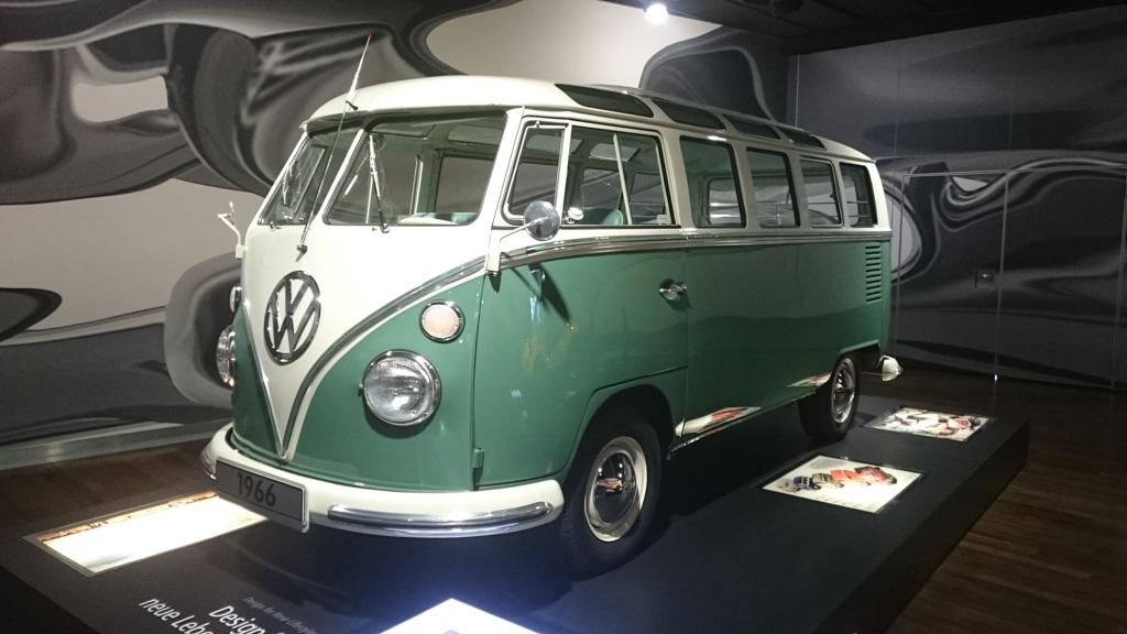 Een keverbus in het automuseum.