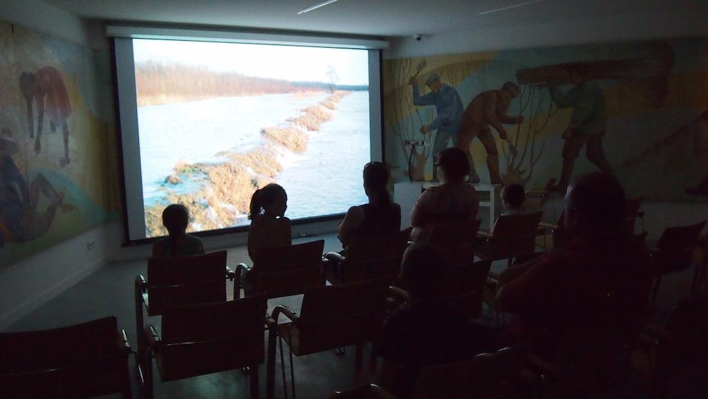Filmpje kijken over de Biesbosch.