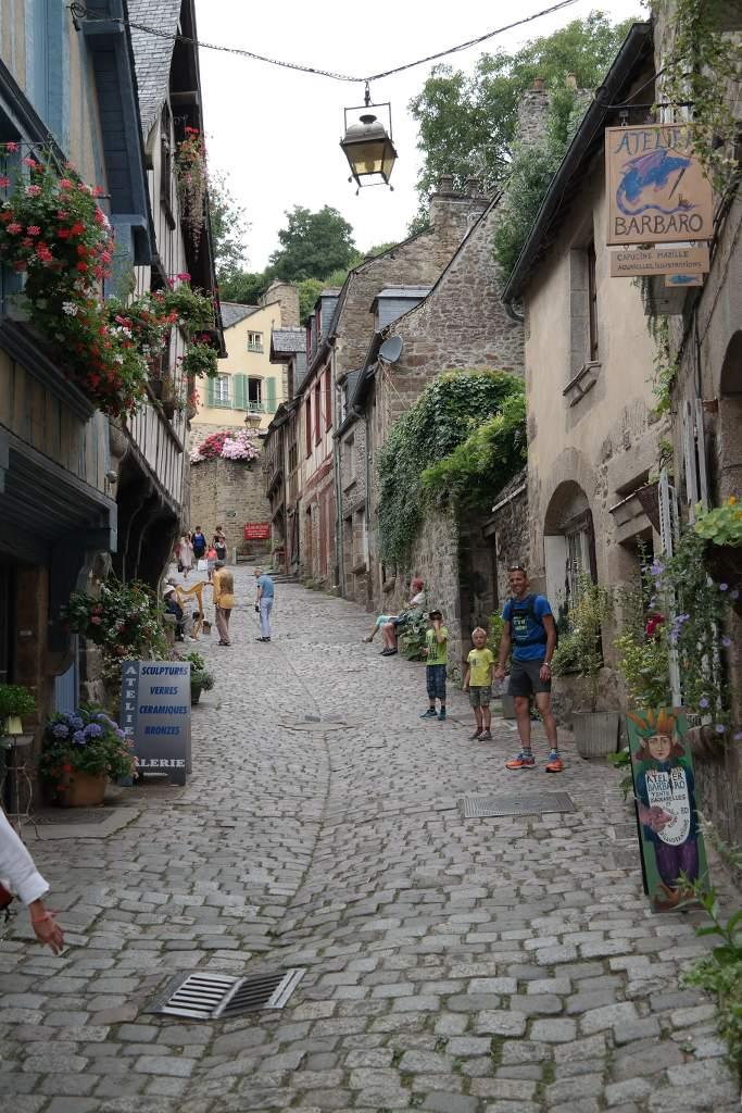 De Middeleeuwse stad Dinan.