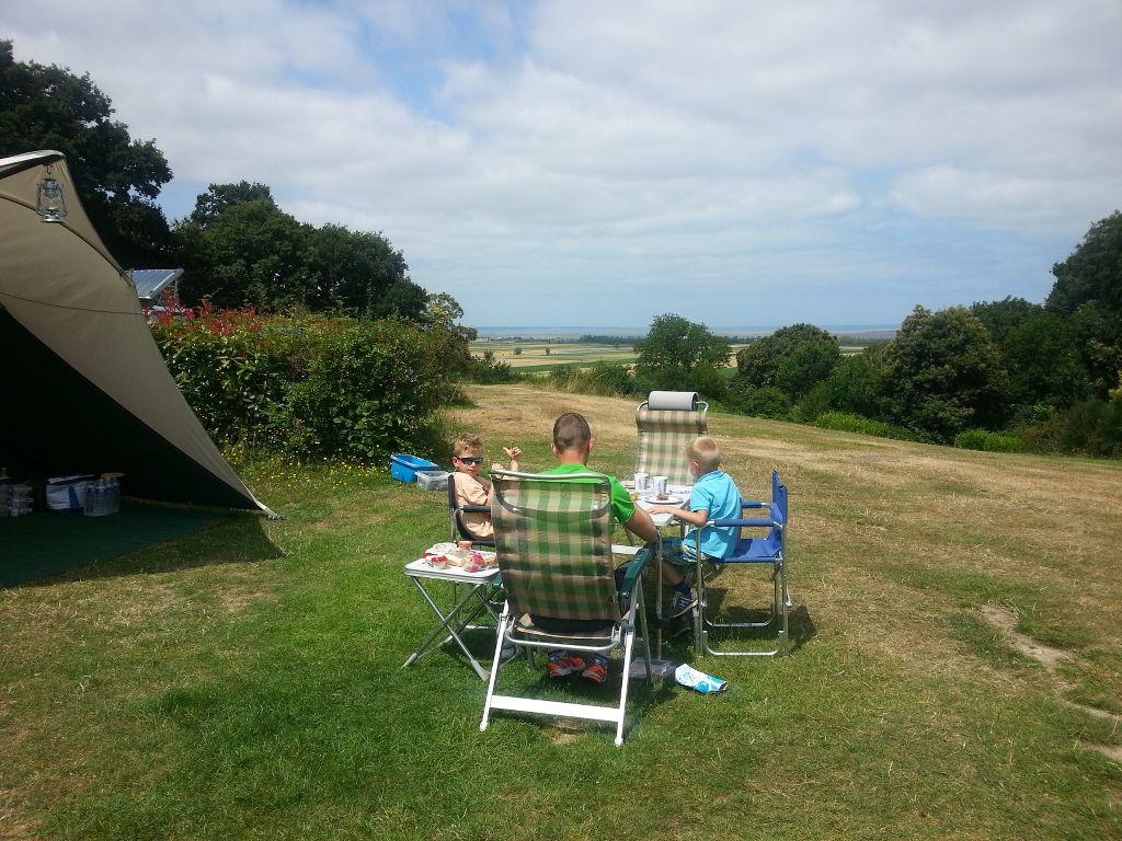 Camping Le Balcon de la Baie.