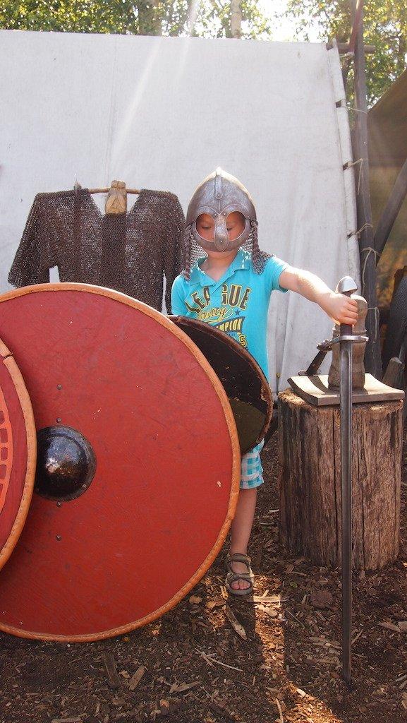 Onze eigen stoere Viking.
