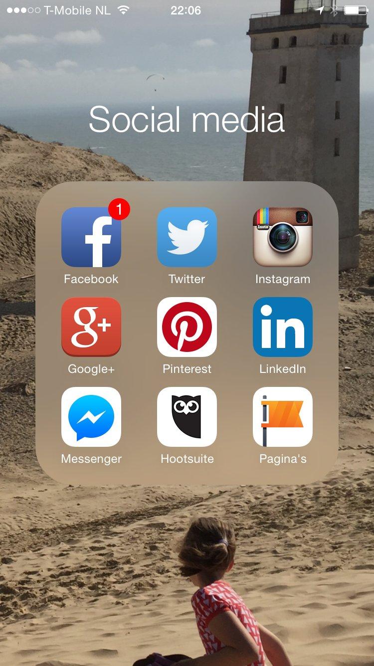 Rondje langs onze social media kanalen.