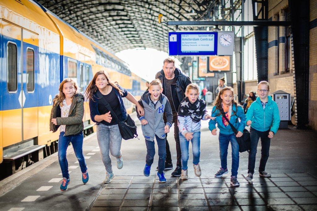 Trein Battle Online Reisprogramma Voor Kinderen