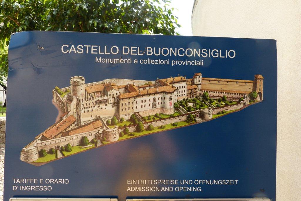 Kasteel Del Buonconsiglio is gratis toegankelijk met de Trentinopas.