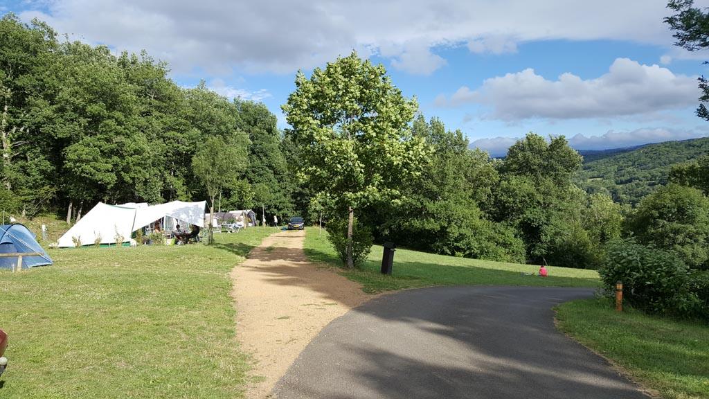 Camping le Viginet is kindvriendelijk en prachtig gelegen.