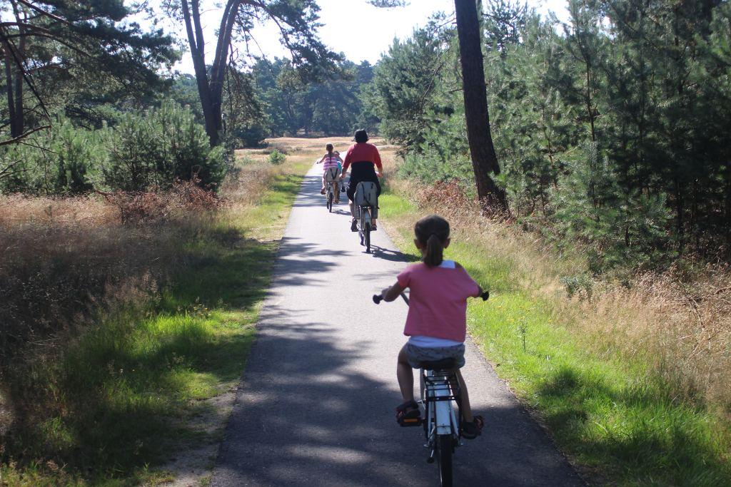 Een stukje door de natuur fietsen. Natuurlijk met doel!