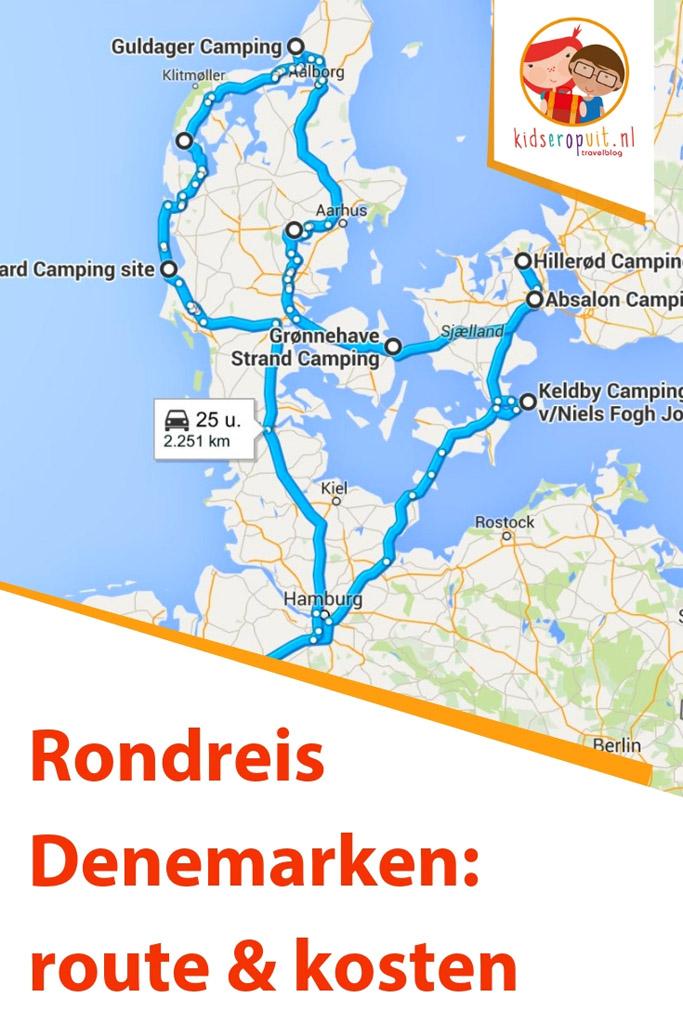 Rondreis Denemarken: alles over route en kosten.
