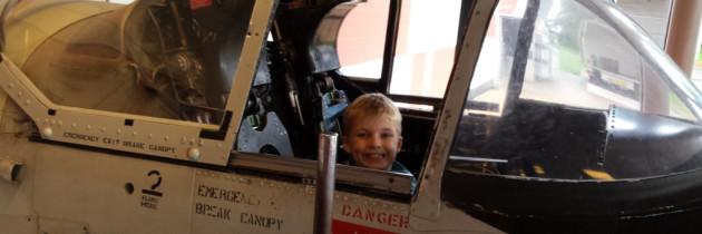 Lelystad: Aviodrome met kinderen