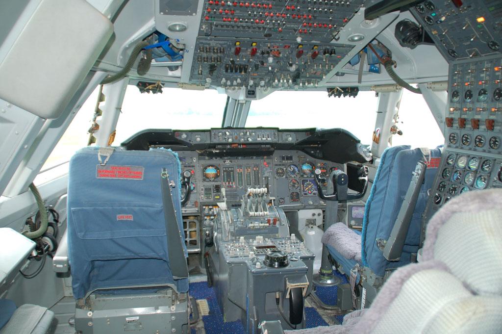 Best indrukwekkend zo'n cockpit.