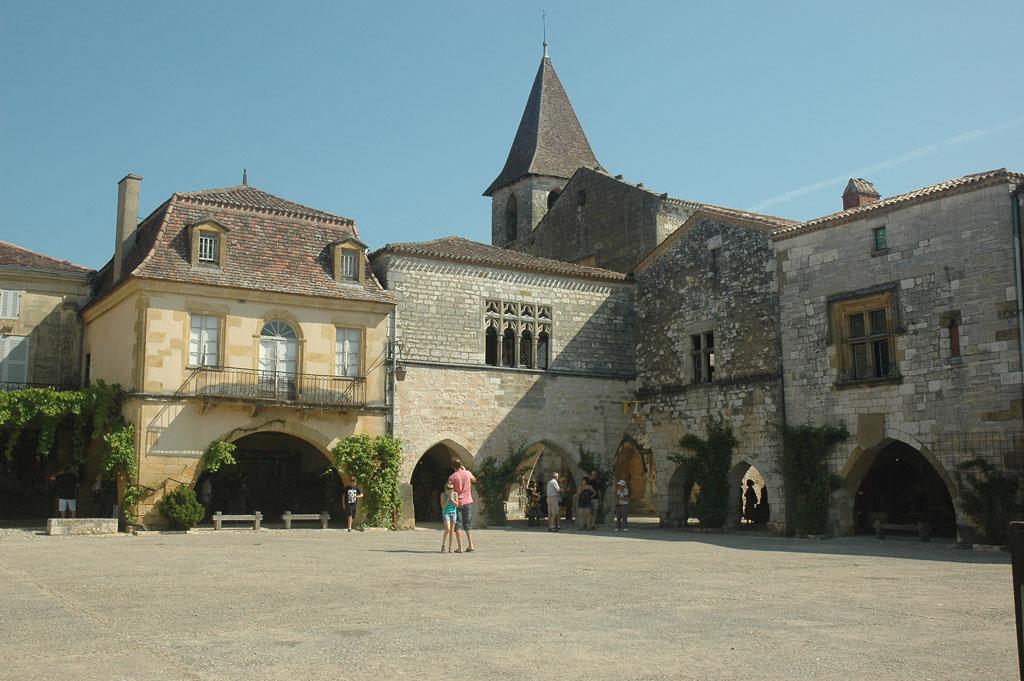 Monpazier, een van Frankrijks mooiste stadjes.