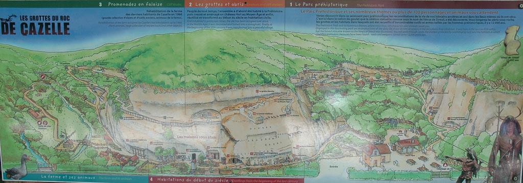 Een kijkje in de prehistorie bij Roc de Gazelle.