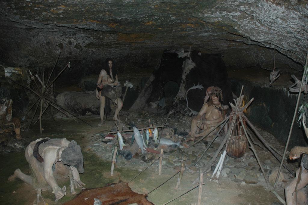 De geschiedenis van de prehistorie.