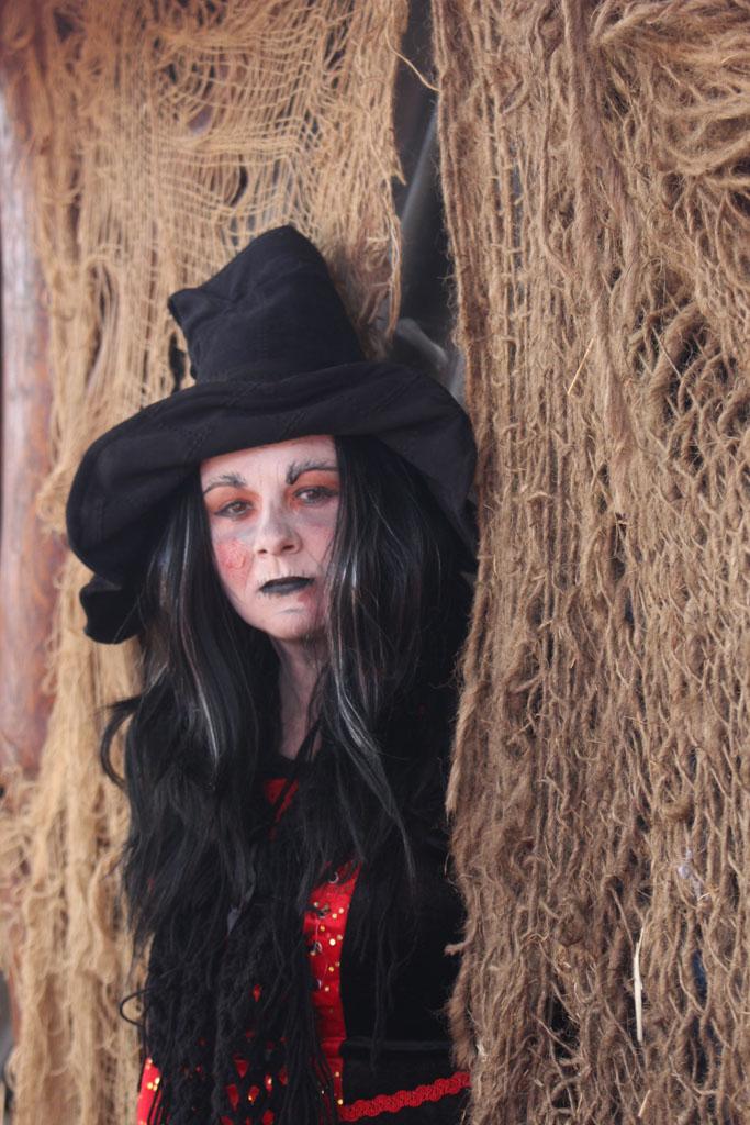 Een van de minder vriendelijke heksen.