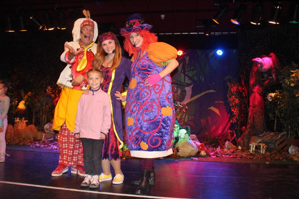Op de foto met Kareltje, Jasmijn en Odelia.