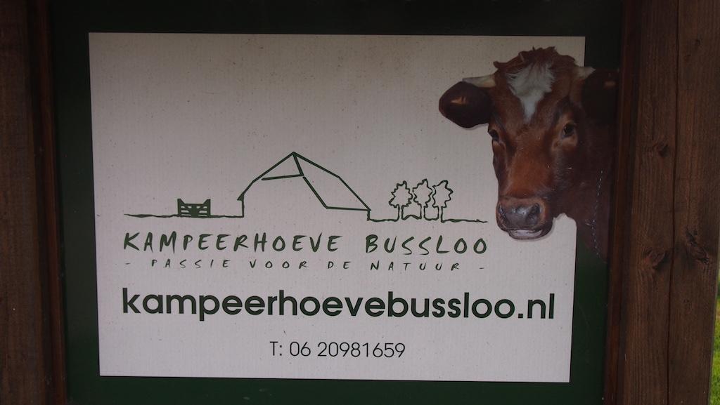Kampeerhoeve Bussloo is een voormalig boerenbedrijf.