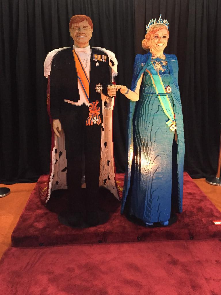 Koning Willem Alexander was er ook.